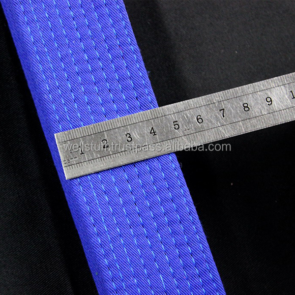 Master Taekwondw Best Embroidery Design and fancy logo Design Belts in all size and all age/judo belts/Martial arts belts