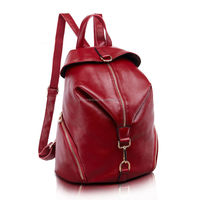 New Style 100% Genuine Leather Backpacks For Women Shoulder Bag