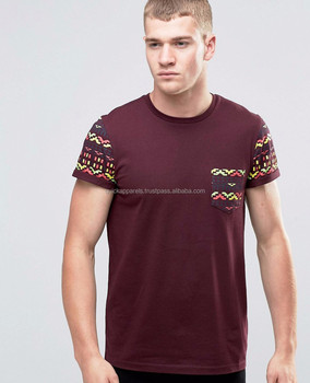 cd75cd3b6 OEM Custom Fashion High Quality Henley Fake Pocket Casual Tee Shirt/Men's  Henley o-