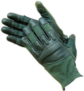 POLICE TACTICAL SHOOTING GLOVE COMBAT HARD KNUCKLE