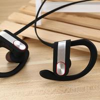 Cool Top Quality Wireless earbud Headset Bluetooth V4.1 Stereo Sports Running Ear Hook Earphone With Mic for All phones