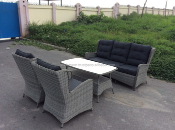 Rieten poly rotan sofa rotan stoel vietnam fabrikant polyrattan