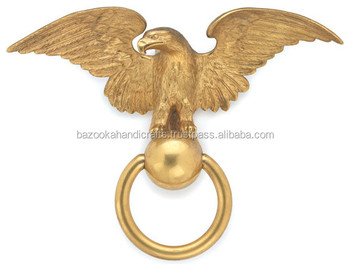 Bon BRASS DOOR KNOCKER, Animal Door Knocker, Metal Door Knocker Eagle