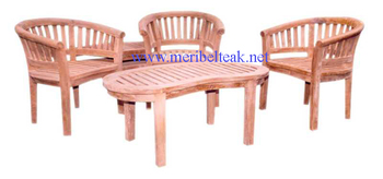 Indonesia Furniture-BEAN SET-Teak Furniture
