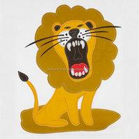 Duvet Cover Set - Applique Lion - Lion Quilt - Childrens Bedroom - Kids Jungle Animal Zoo Safari Room - Toddler Bedding - cover