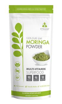 Vitaleaf 100% Pure Leaf Microfine Moringa Oleifera Powder