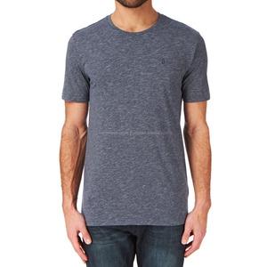 custom garment factory o neck short sleeves colour grey