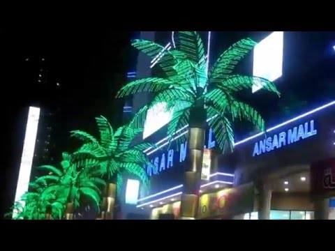 Ansar Mall's Artificial Palm Trees