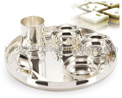 Sai Home Appliances Silver Plated Dinner Set - Buy Stainless Steel Dinner Plate Sets Product on Alibaba.com  sc 1 st  Alibaba : silver plate set - Pezcame.Com