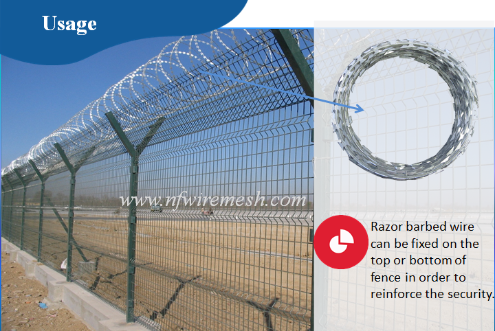 Razor Barbed Wire Fence Wall Spikes And Steel Bird Spikes(guangzhou ...