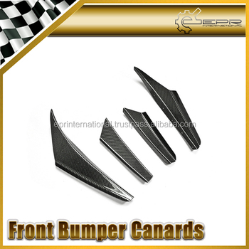 For EVO 5 Front bumper canard (4 pcs)