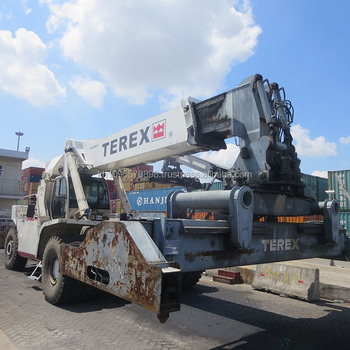 cheap used terex container reach stacker tfc45 for sale in shanghai rh alibaba com Manual Hand Lift Stacker Electric Stacker
