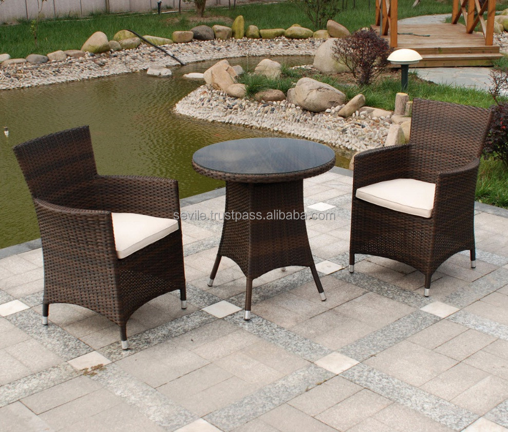 Rattan chairs and tables garden rattan set