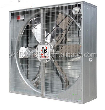 Unitedstar Heavy Duty Industrial Belt-driven Fans With Automatic Louvres  (energy Saving Box Fans) All Sizes - Buy Heavy Duty Industrial Exhaust Fan
