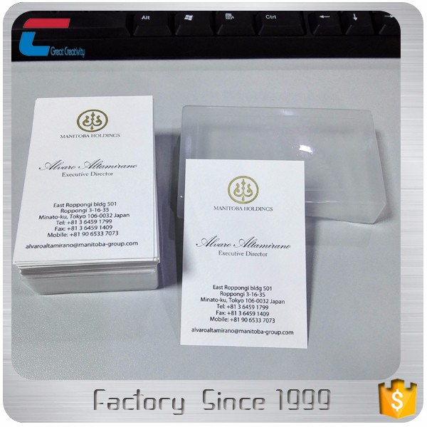 Wholesale CMYK printing Customized Plastic PVC Gift membership Card with envelope