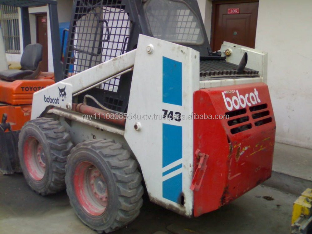 Used Good Condition Wheel Loader Bobcat 743 In Cheap Price For ...