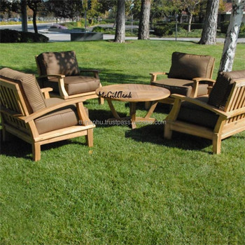 Luxury Style High Quality Outdoor Sofa Teak Wood Furniture Garden Furniture Buy High