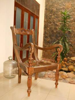 Antique Colonial Chairs .