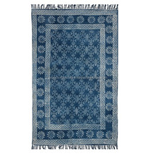 Rectangular shape best qualitly indian home decor block printed dhurries 4*6 ft Carpet Rug