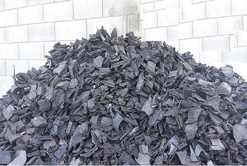 50mm Tdf Tire Derived Fuel Shredded Tyre Chips Scrap