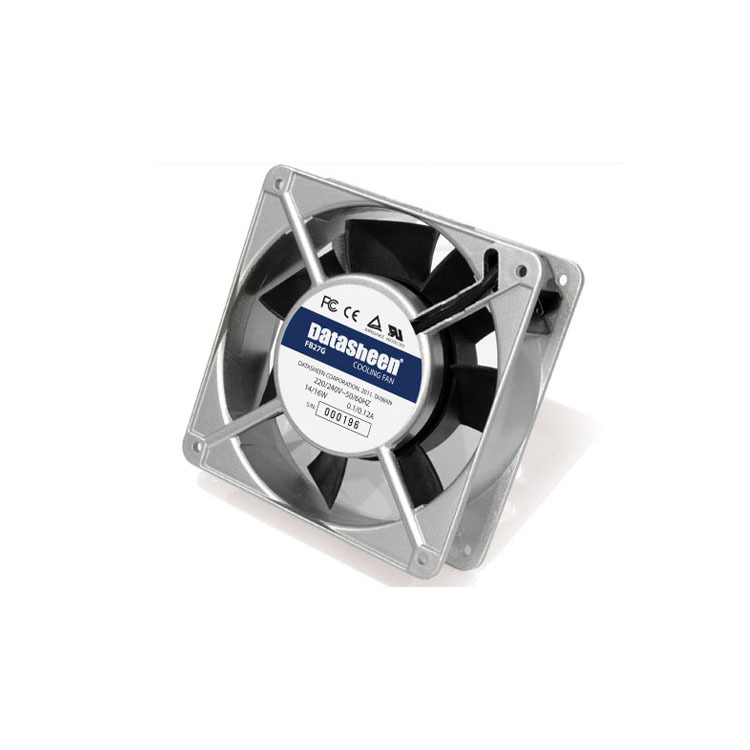 Cooling Fan Silver 120*120*38mm Sever Rack Network Cabinet Cooling System  CE SGS