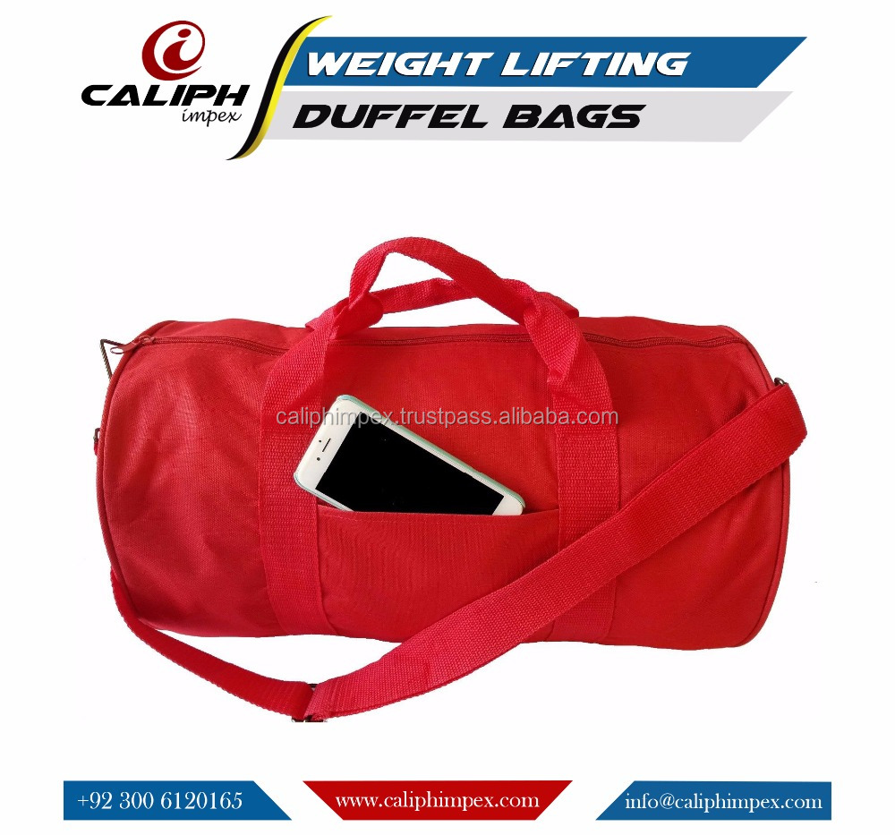 Polyester ROLL Duffle Bag Travel/Gym/Carry-On Sport Gym Bag