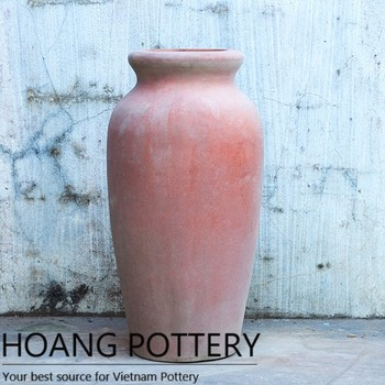 clay pot outdoor flower large / garden decor ceramic decorated, Garden idea