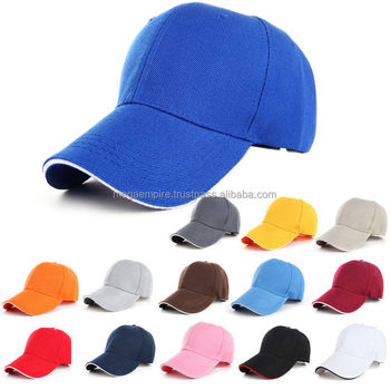 Plain Colors Custom Promotional Embroidered Baseball Caps 2c923c23d