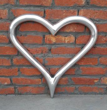 Aluminium Wall Decorative Heart - Buy Wall Hanging Heart,Heart ...