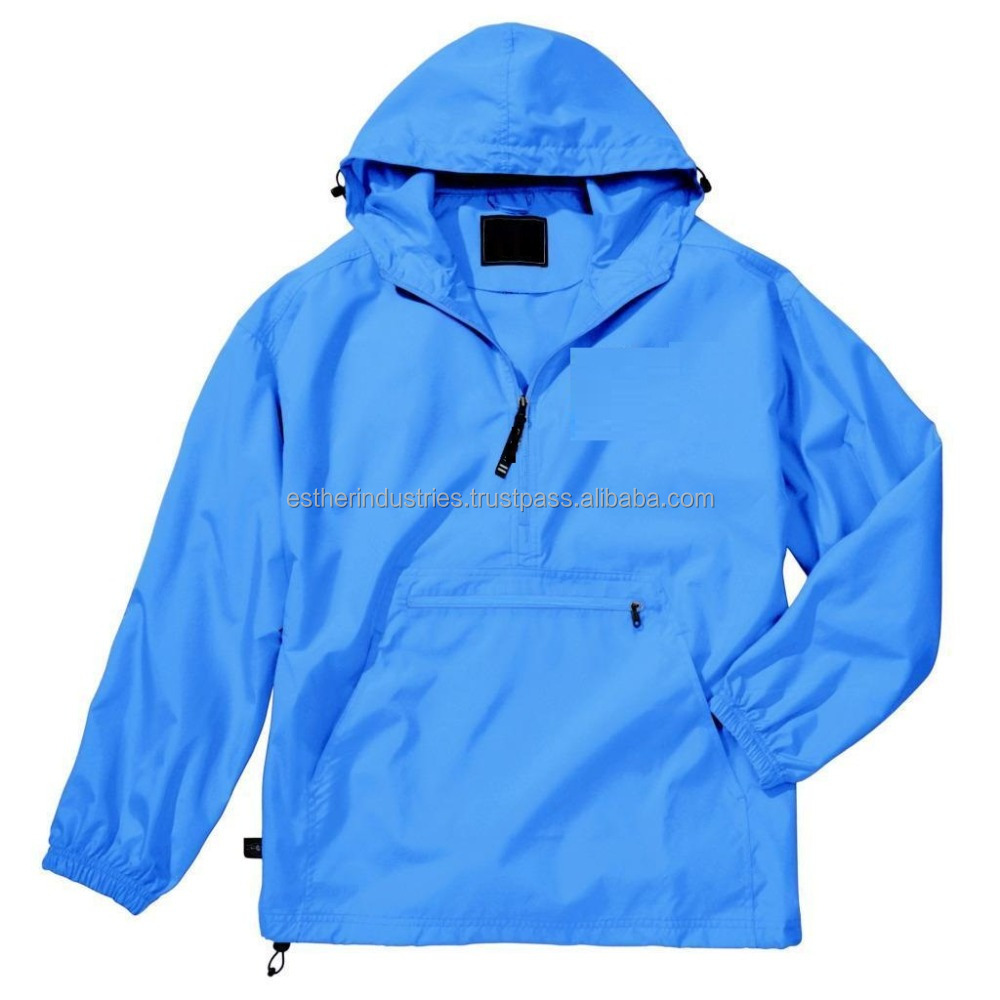 2017 Hot Selling Pullover Rain jacket/waterproof polyester windbreaker jacket/Vintage Urban Classic Custom Pullover jacket
