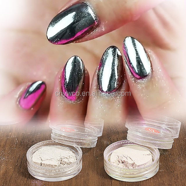 2018 best-selling attractive chameleon pigment for nail with mirror nail chrome powder form China VW factory