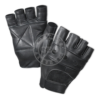 Pakistan Supplier Factory / Men Sports Gym Fitness / Leather Weight Lifting Gloves