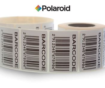 polaroid barcode labels 80mm x 45mm buy barcode stickers roll