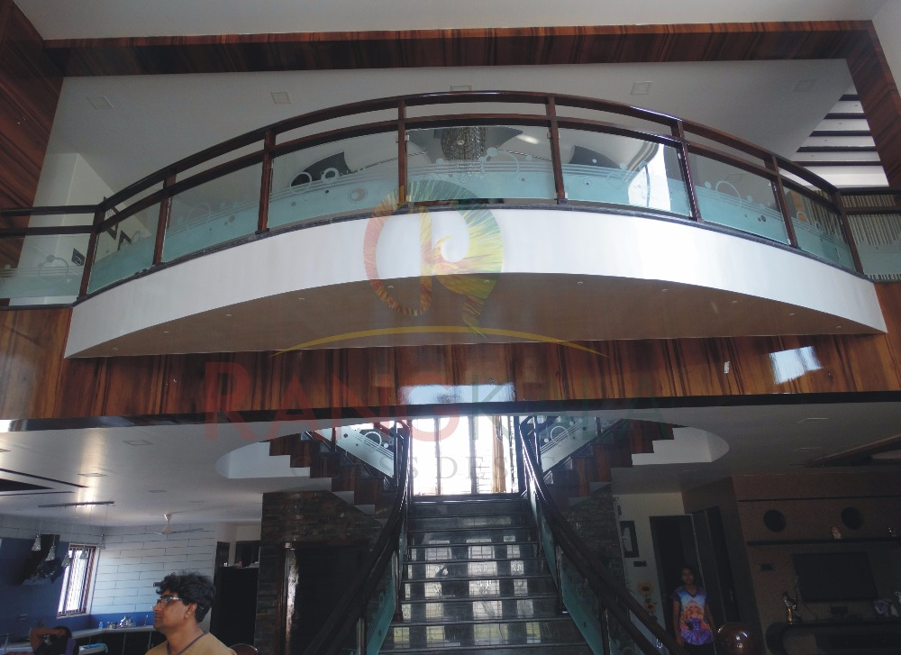 Designer Staircase Railing Glass Buy Staircase Glass Railing