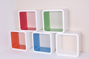 Mdf High Quality Cubes Shelves Buy Wall Mounted Cube Shelf - Cube shelves