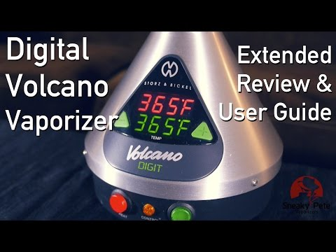 Digital Volcano Vaporizer | Extended Review & User Guide | Sneaky Pete's Vaporizer Reviews