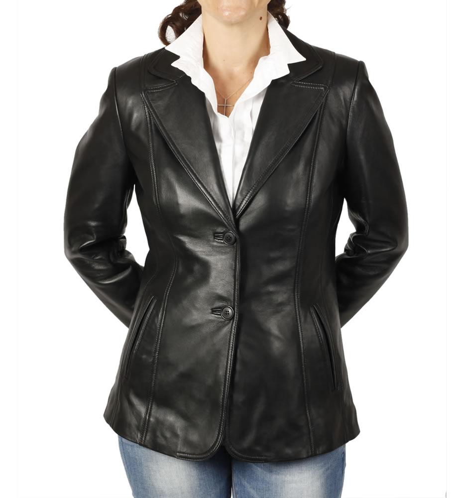 Western Style Suede Leather Ladies Jacket Fringe Beaded Suede