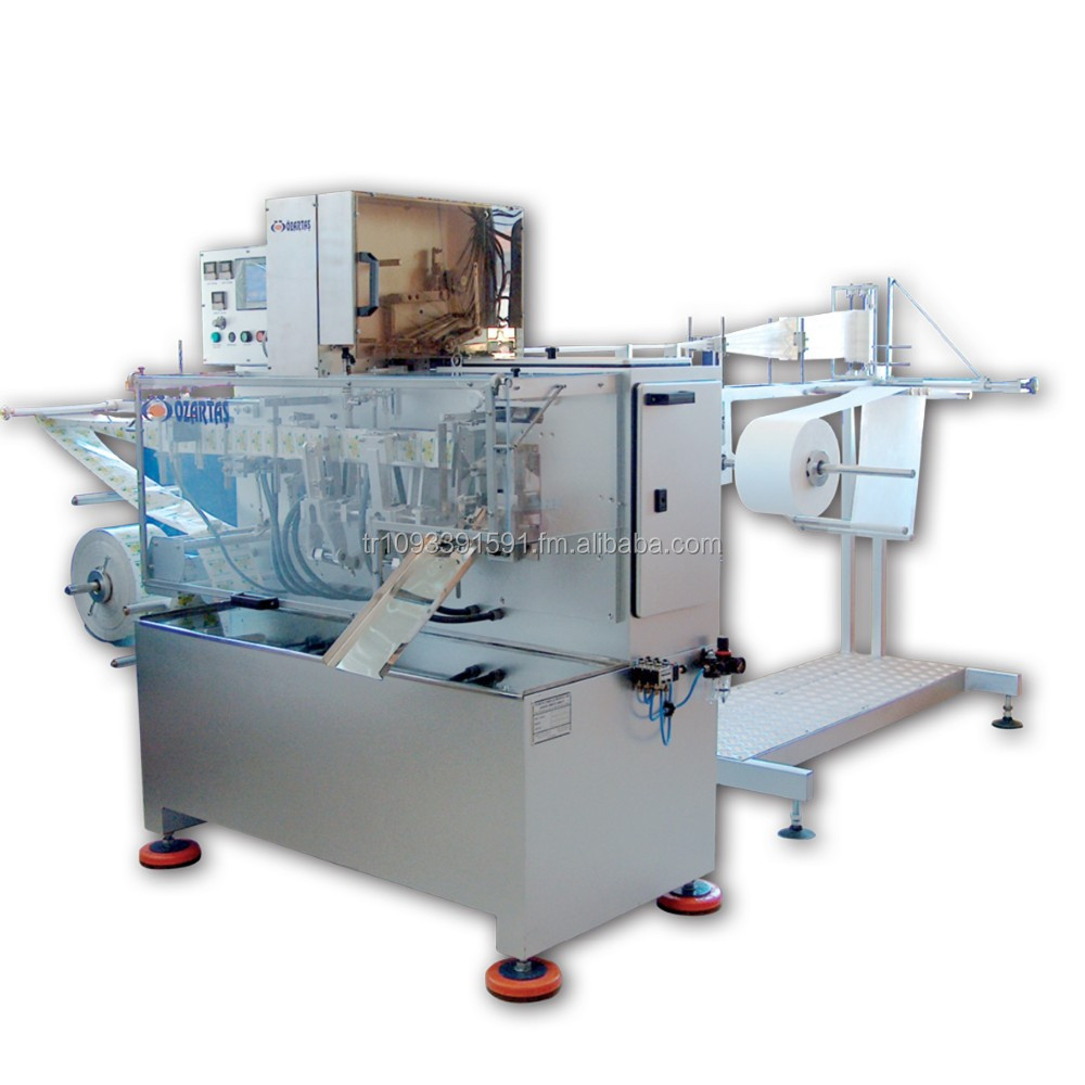 OZ1000-M REFRESHING TISSUE WET HANDY TOWEL PACKING MACHINE