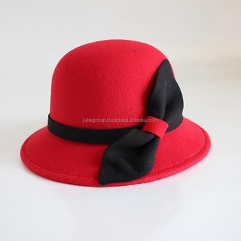 8b0dcd4e4ad High Quality Funny Women Wool Felt Cloche Winter Hat For Sale - Buy ...