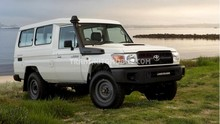 Toyota Land Cruiser 78 Metal top 4.5L V8 TD Troop carrier RHD brand new 0 km never registered