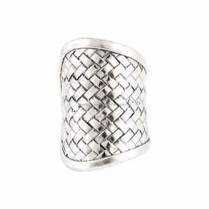 Silver Oxidized Tribal Handcrafted Jewelry Wholesale Designer Ring