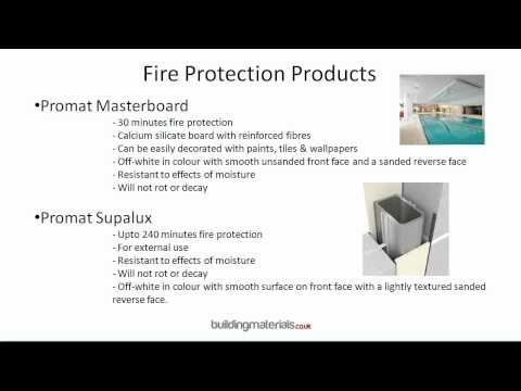 Fire Protection Products - Specialist suppliers for passive fire protection