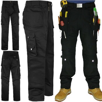 Fashion New Work Pants Mens Heavy-duty Cargo Pocket Work Pants-6 ...