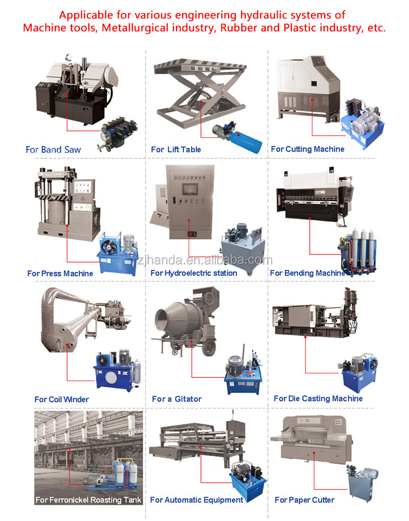 China Garbage Compactor Parts Hydraulic Oil Type Power