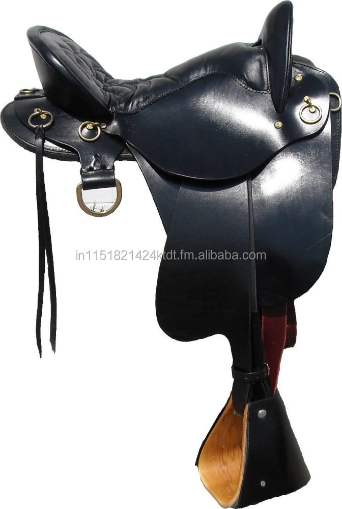 leather horse endurance saddle