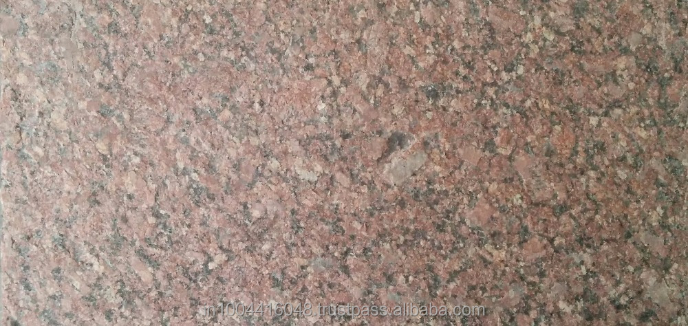 Good Quality and Cheap Price Flamed Gem Red Granite Tiles