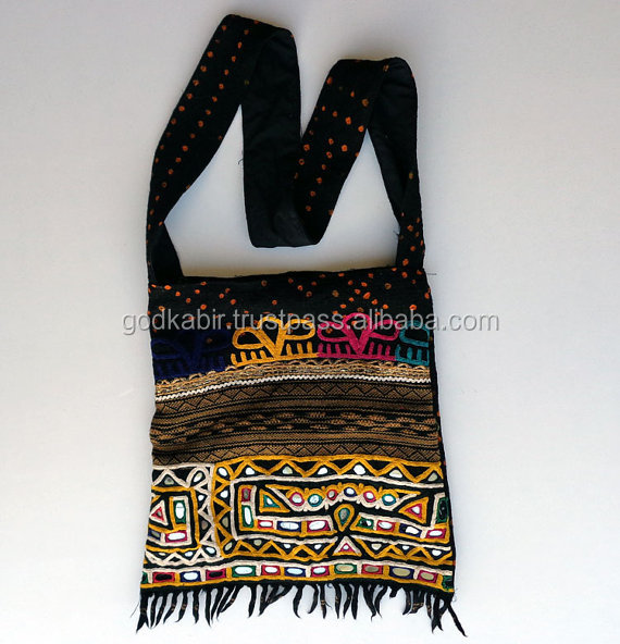 Vintage Handmade Banjara coin clut/ Woolen banjara bag/New Modern and Recently Featured Best Handwork And Handmade Bags .