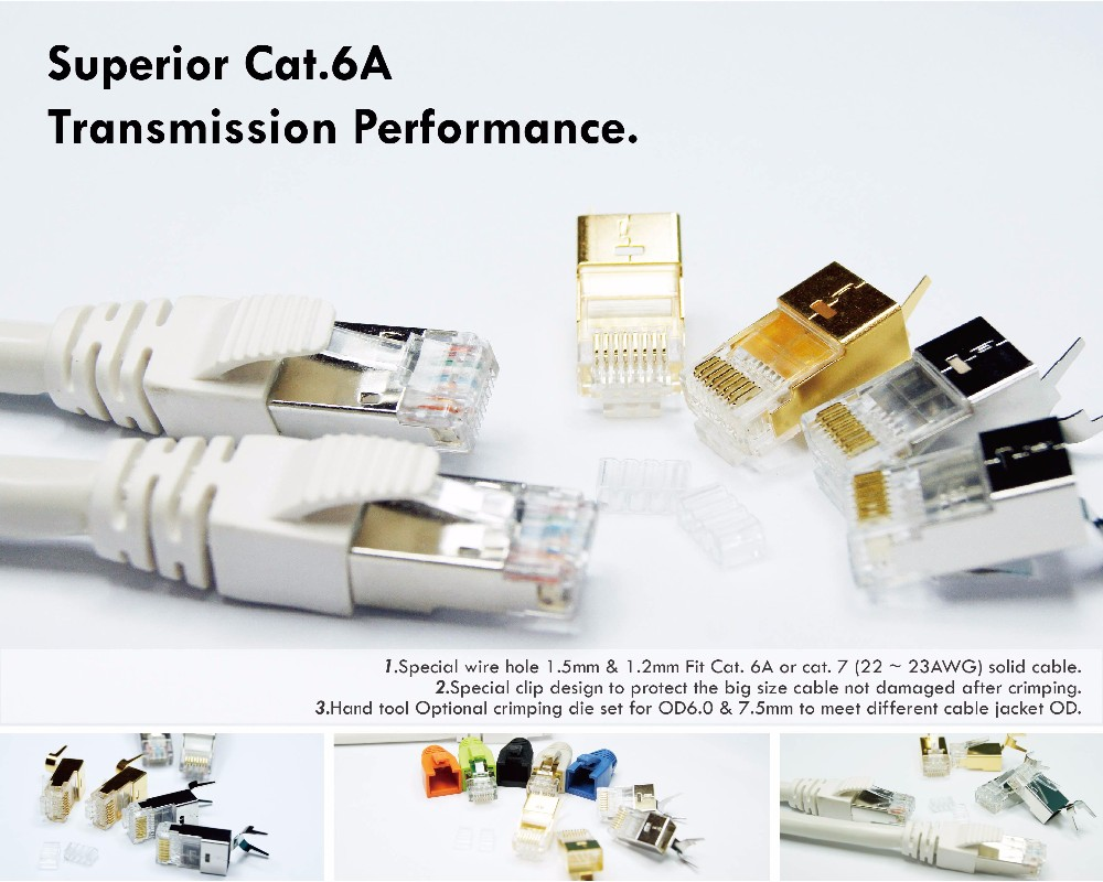 Rj45 Connector Cat 6 Modular Plug Wiring Library Cat6 Jack Hot Selling Taiwan Manufacturer Cable Cat6a 1 01