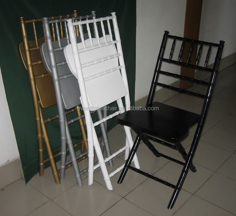 Used Elegant Banquet Wood Chiavari Folding Chairs For Sale Buy Used Padded