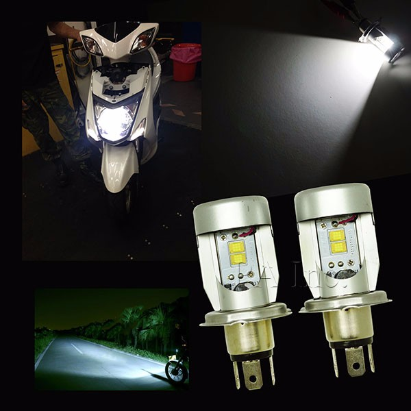 Moped Scooter Motobike Headlamp Snowmobile Light 2016 New Arrival ATV LED Headlights.jpg